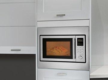 Bomann Einbau-Mikrowelle mit Grill und Heißluft