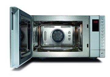 CASO Mikrowelle mit Grill und Heißluft, Backen bis 240°C