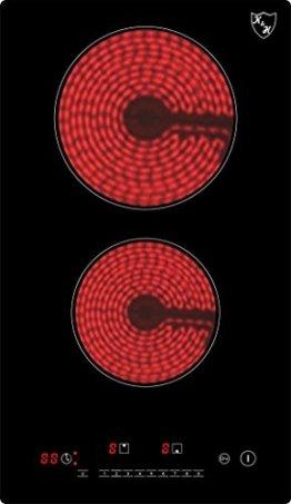 K&H Domino Glaskeramikkochfeld