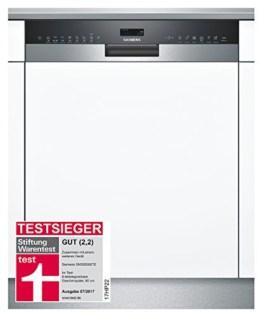 Siemens Geschirrspüler teilintegriert