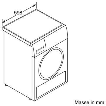 Siemens Wärmepumpentrockner/A+++/8 kg
